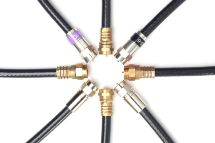 Professional cable tv connectors